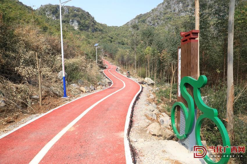 龙头村建设中的环山自行车赛道。记者 张友豪 摄_副本.jpg
