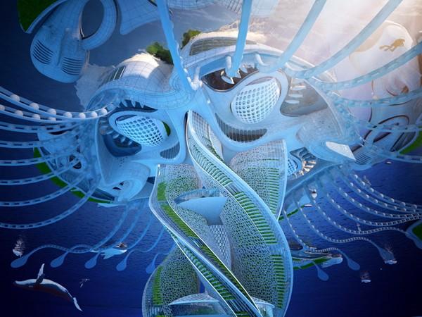 我的世界摩天大楼设计图展示