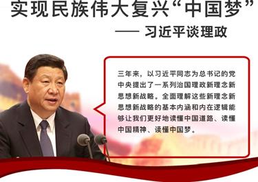 """习总书记谈理政:实现民族伟大复兴""""中国梦"""""""